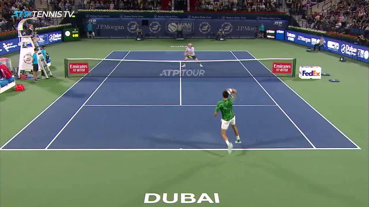 Novak Djokovic 2-0 Stefanos Tsitsipas