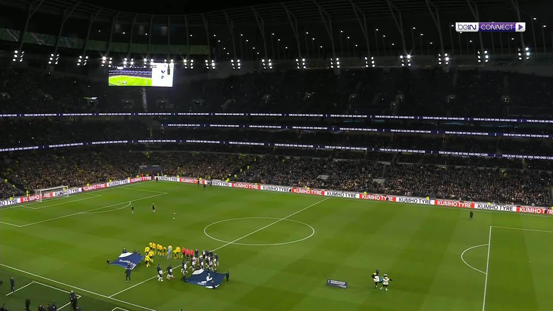 Tottenham 1-1 Norwich (pen 2-3)