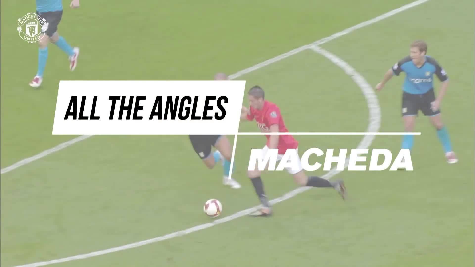 Mọi góc quay về bàn thắng của Macheda