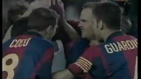 Hat-trick của Rivaldo
