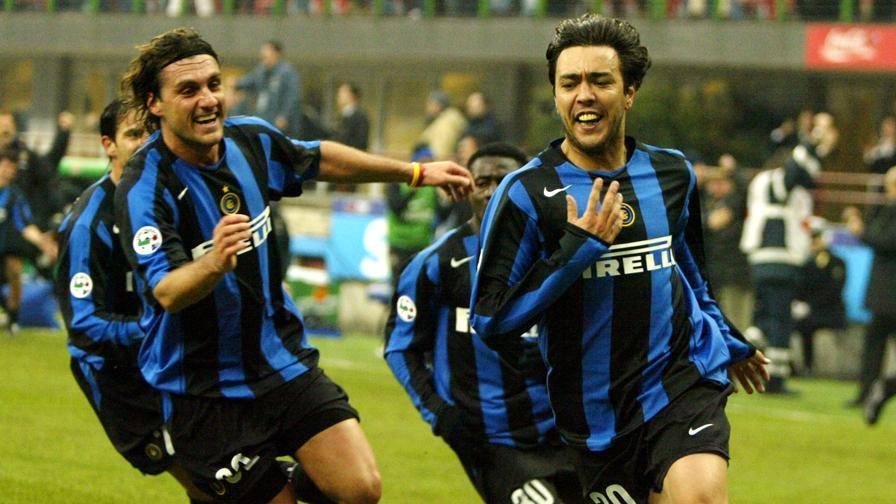 Recoba giúp Inter thắng ngược Sampdoria 3-2
