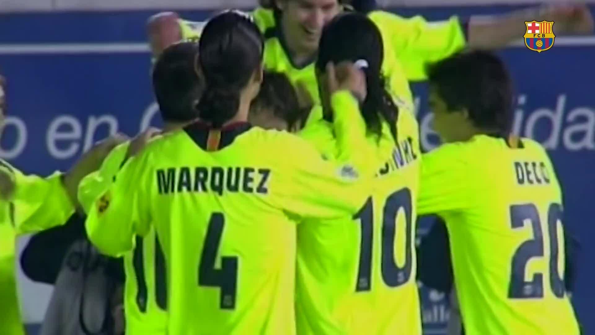 25 bàn thắng đẹp của Messi cho Barca