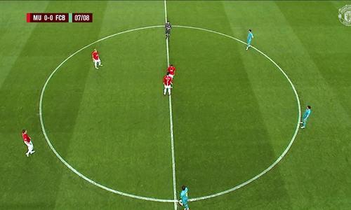 Diễn biến chính trận Man Utd - Barca