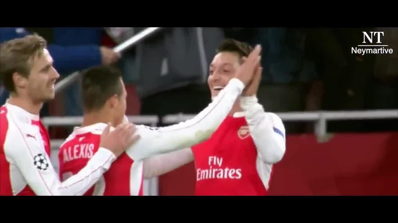 Những pha phối hợp giữa Ozil và Sanchez