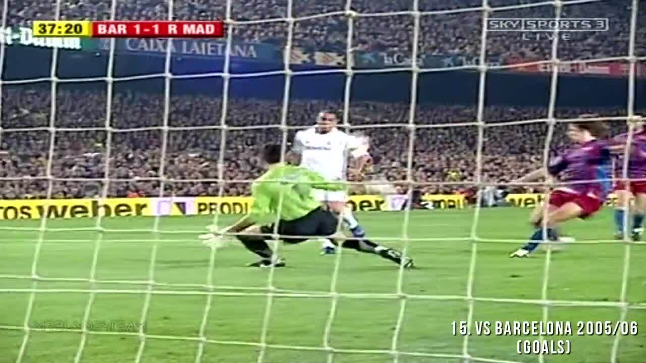 Những pha xử lý ấn tượng của Ronaldo