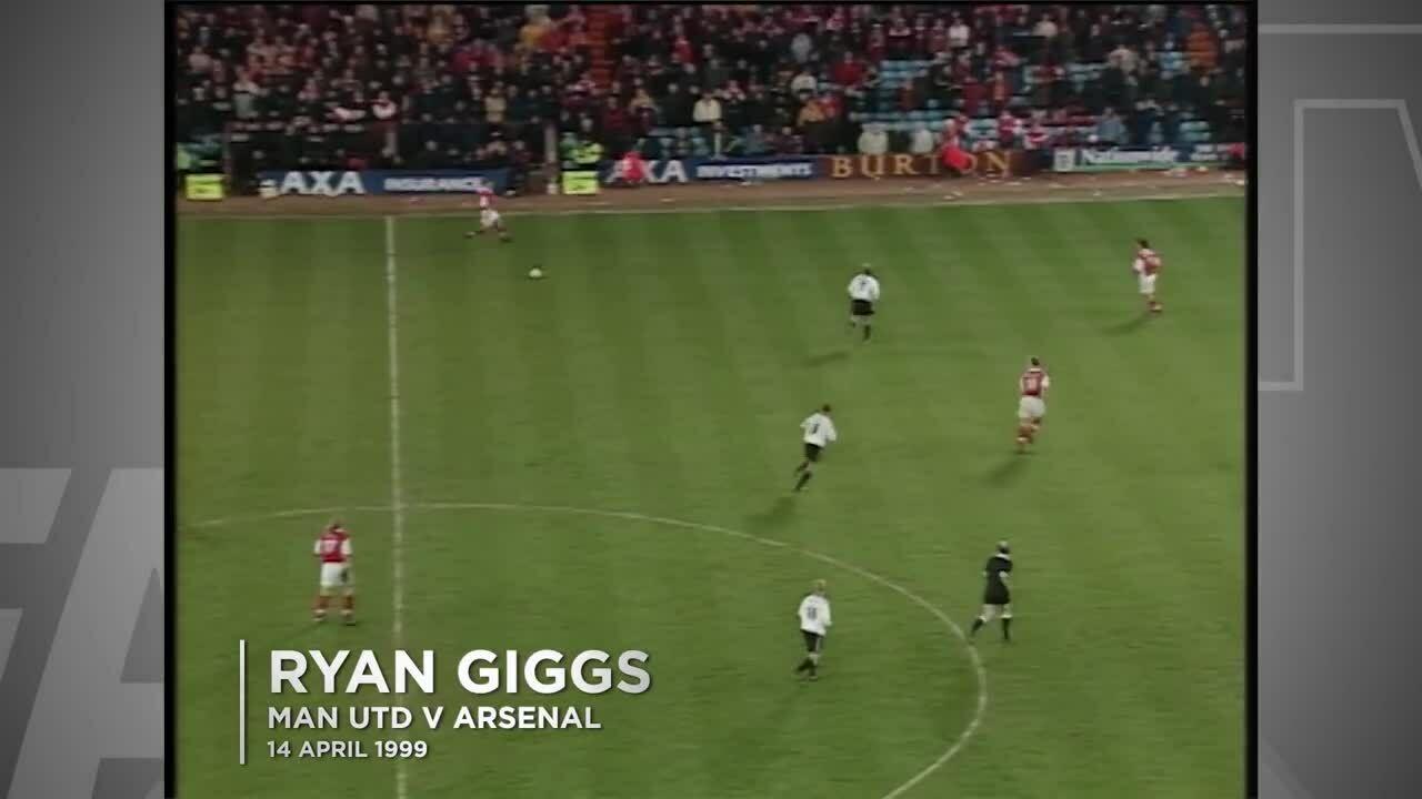 Pha solo ghi bàn huyền thoại của Giggs năm 1999