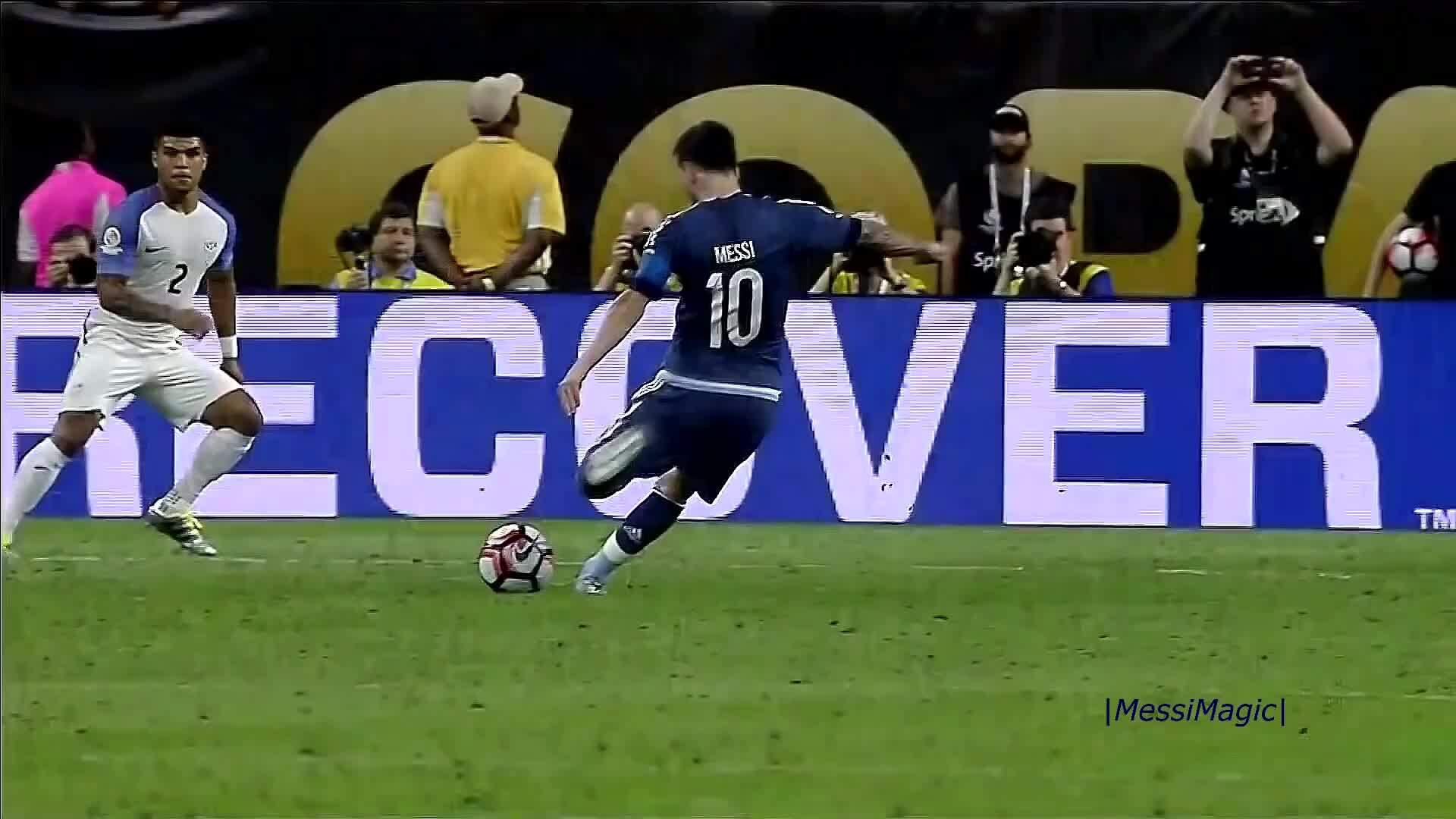 Những bàn thắng đẹp của Messi cho Argentina