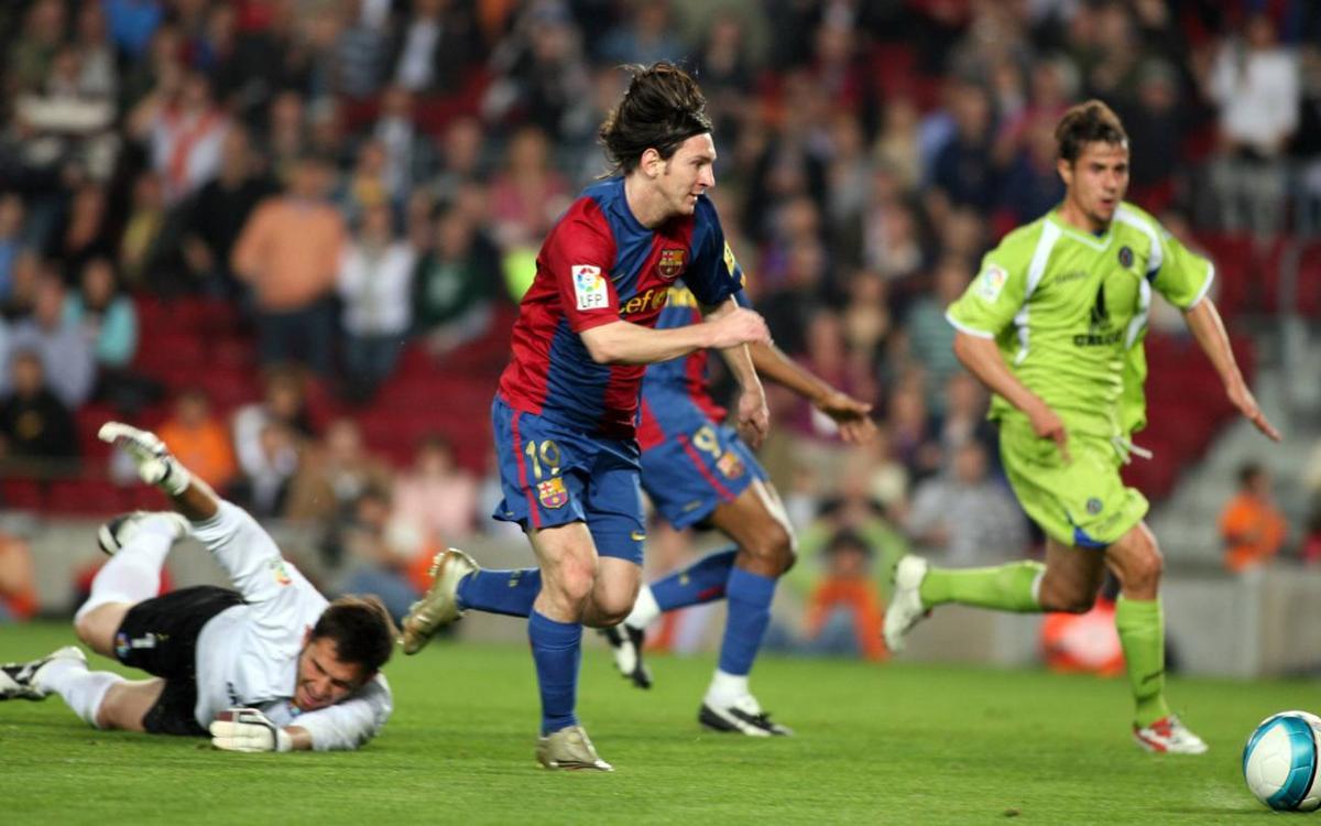 Messi độc diễn ghi bàn năm 2007