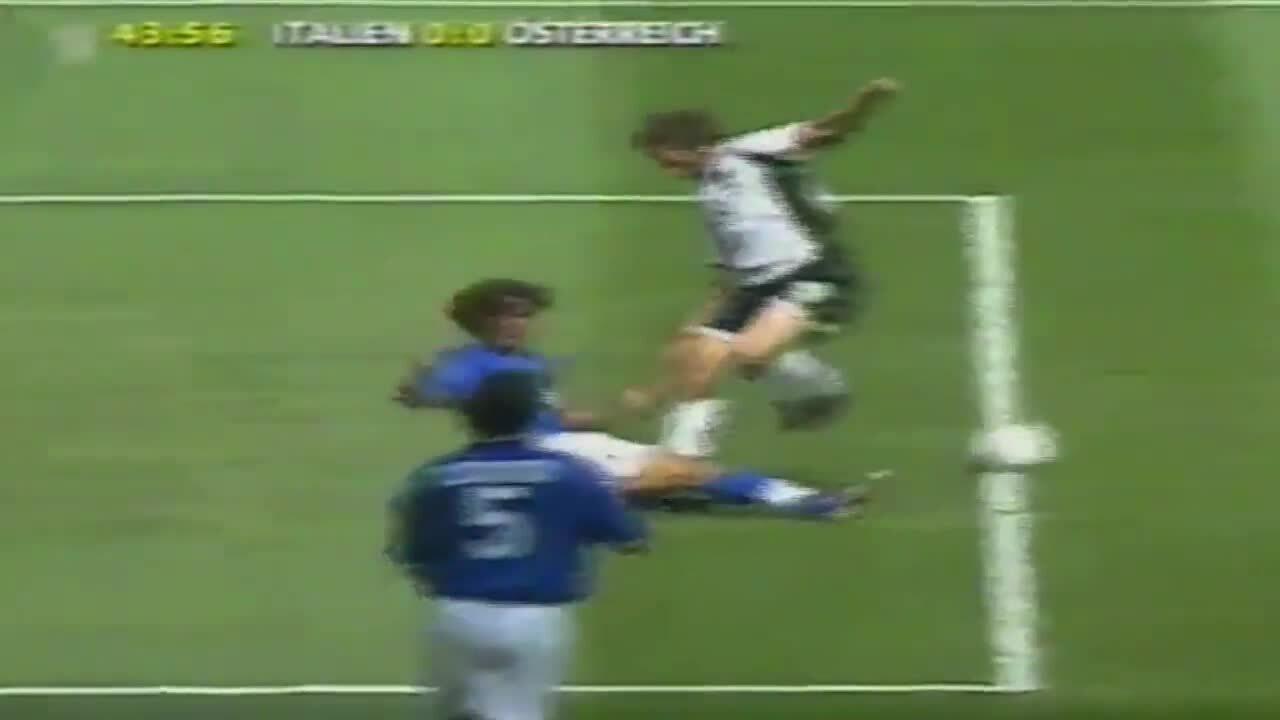 Màn trình diễn của Maldini tại World Cup 1998 và Euro 2000