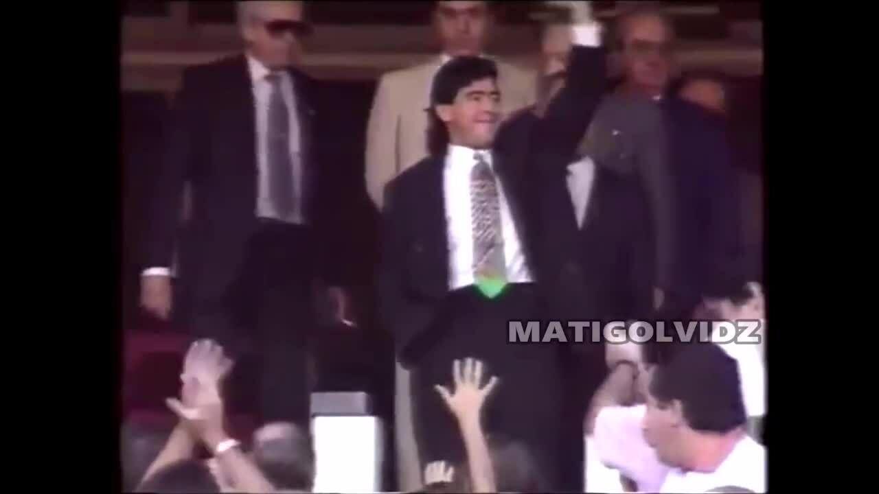 Màn trình diễn của Maradona tại Sevilla