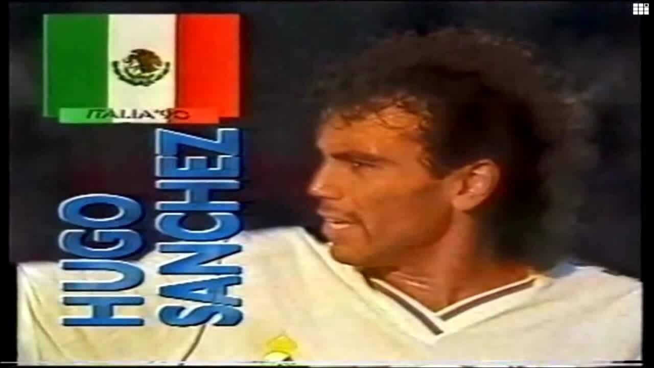 Màn trình diễn của Hugo Sanchez tại Real