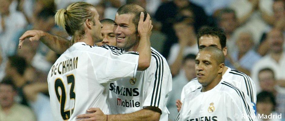 Real Madrid thời đỉnh cao của Beckham và Zidane