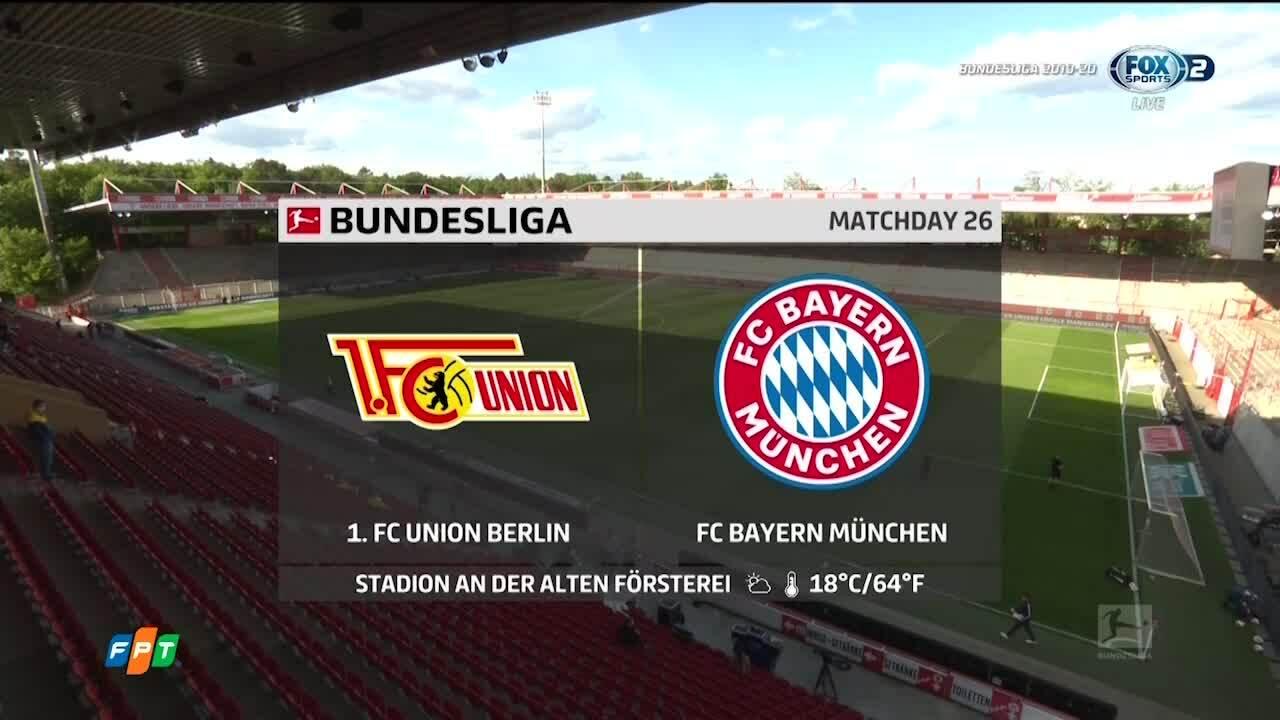 Union Berlin 0-2 Bayern