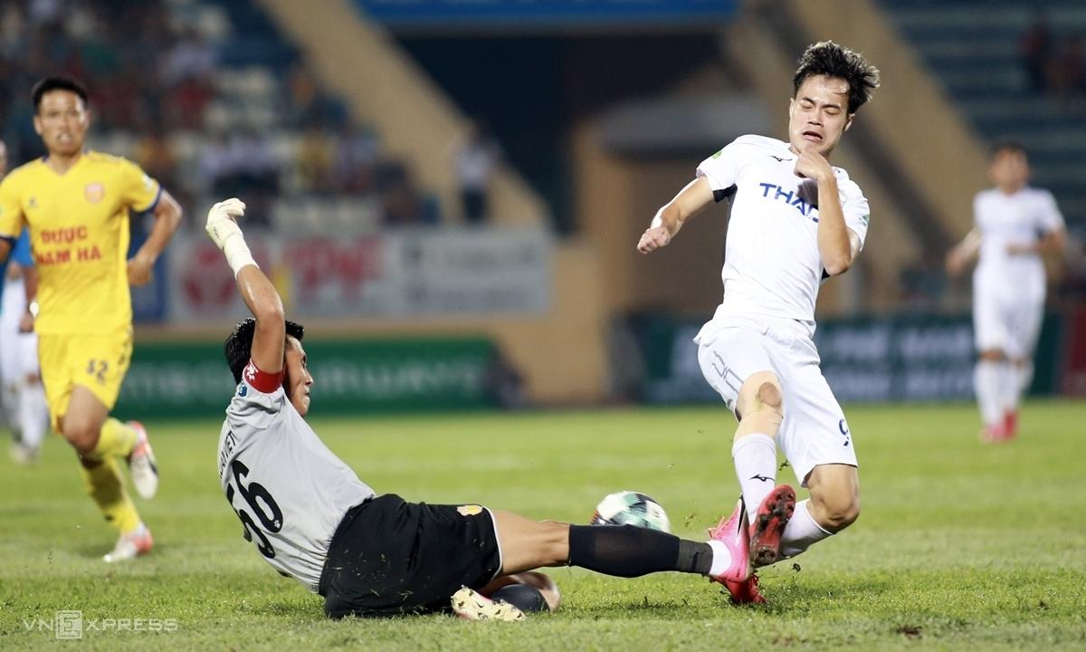 Nam Định 2-0 HAGL
