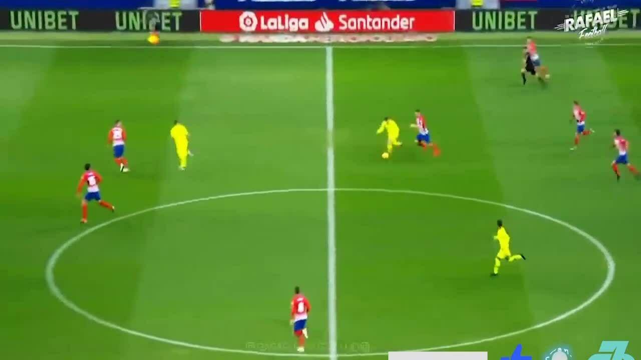 Khả năng di chuyển của Lionel Messi