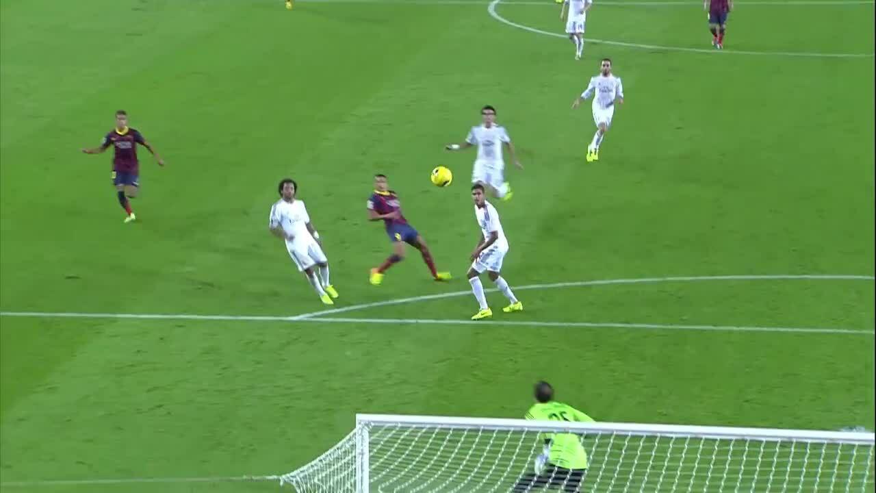 Barca 2-1 Real 2013