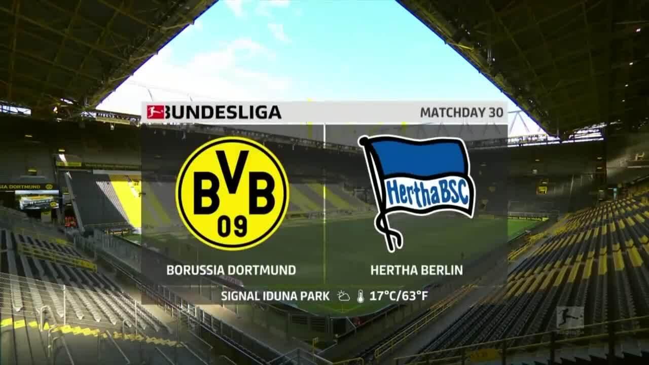 Dortmund 1-0 Hertha Berlin