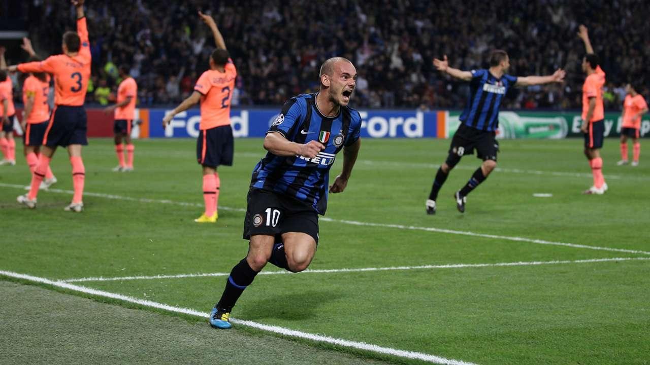 Tài nghệ của Sneijder thời đỉnh cao ở Inter