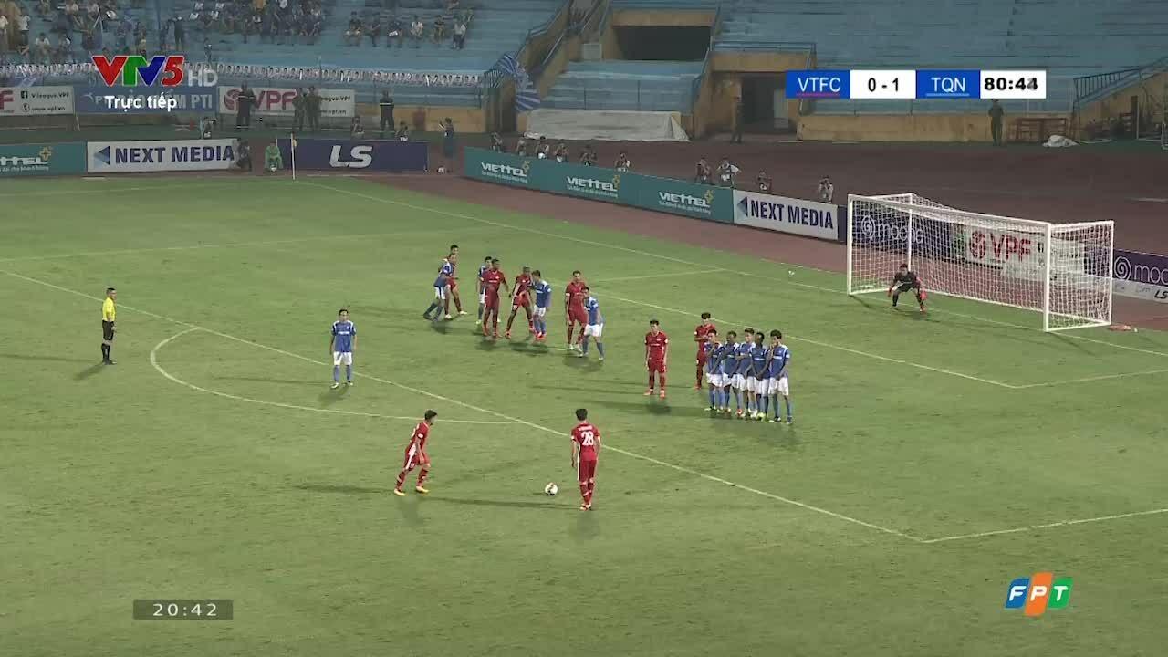 1-1 cho Quảng Ninh