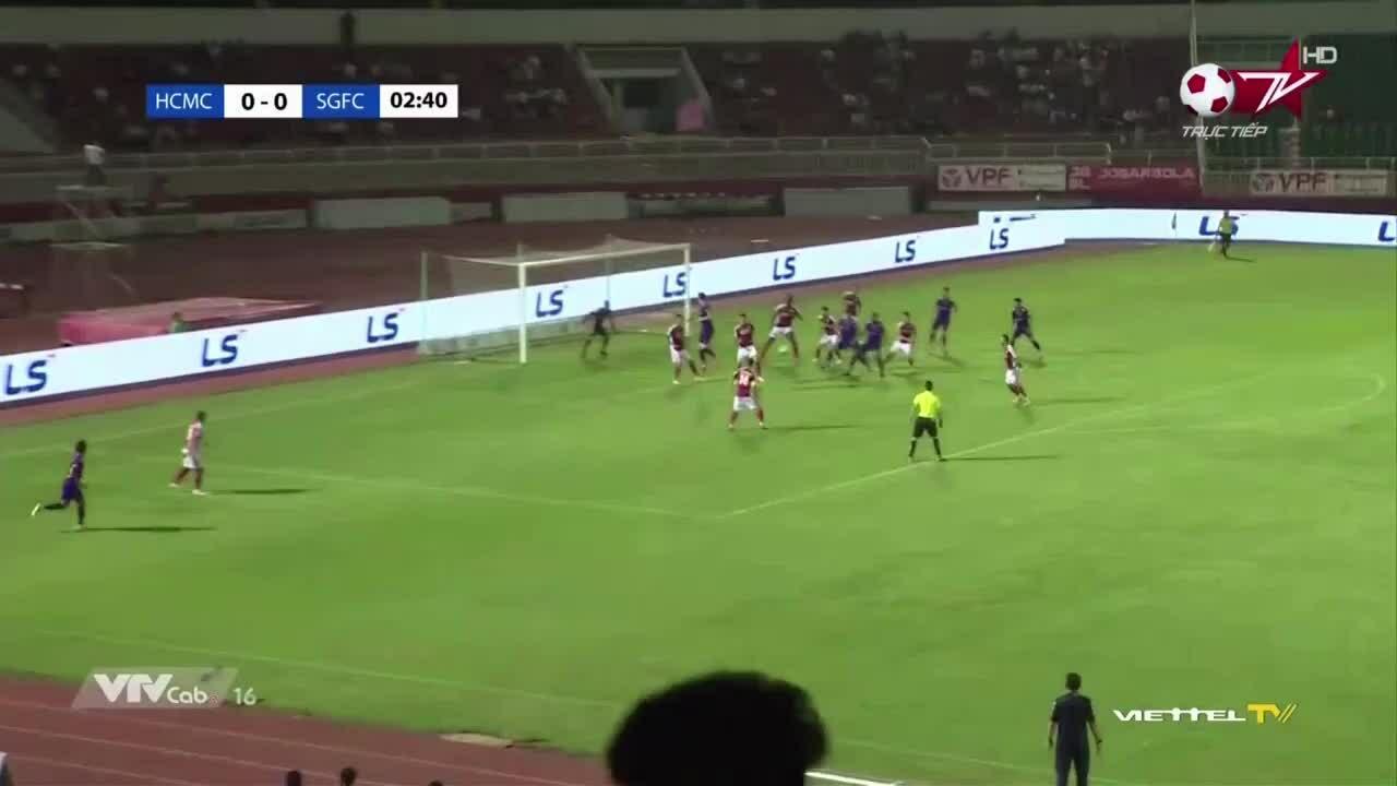 TP HCM 0-1 Sài Gòn
