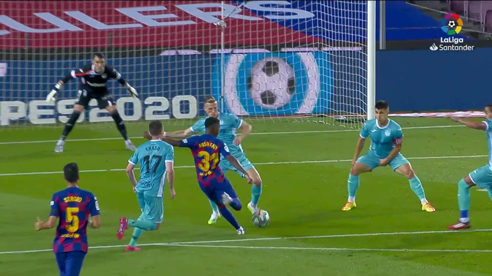 Barcelona 2-0 Leganes