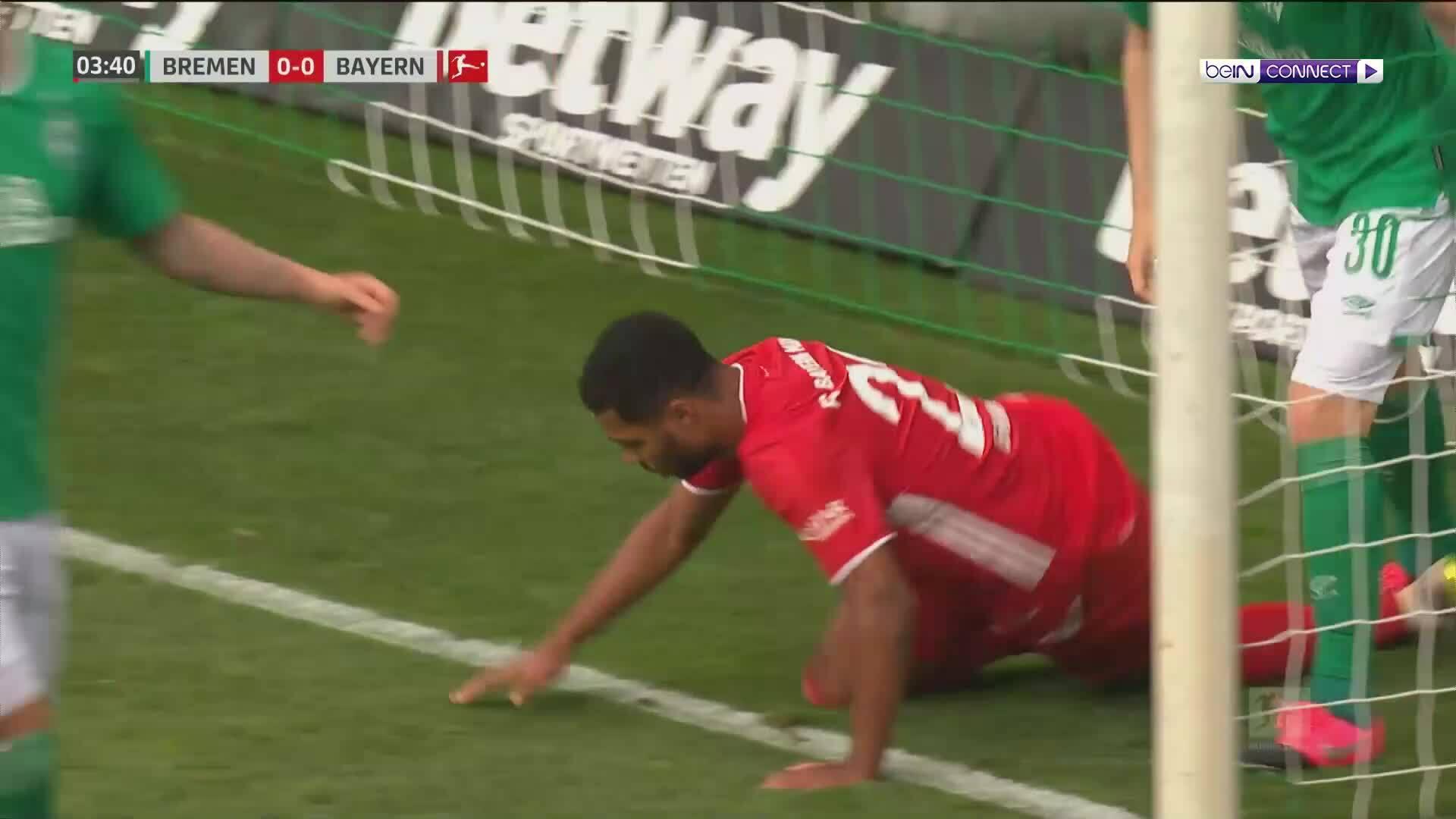 Werder Bremen 0-1 Bayern