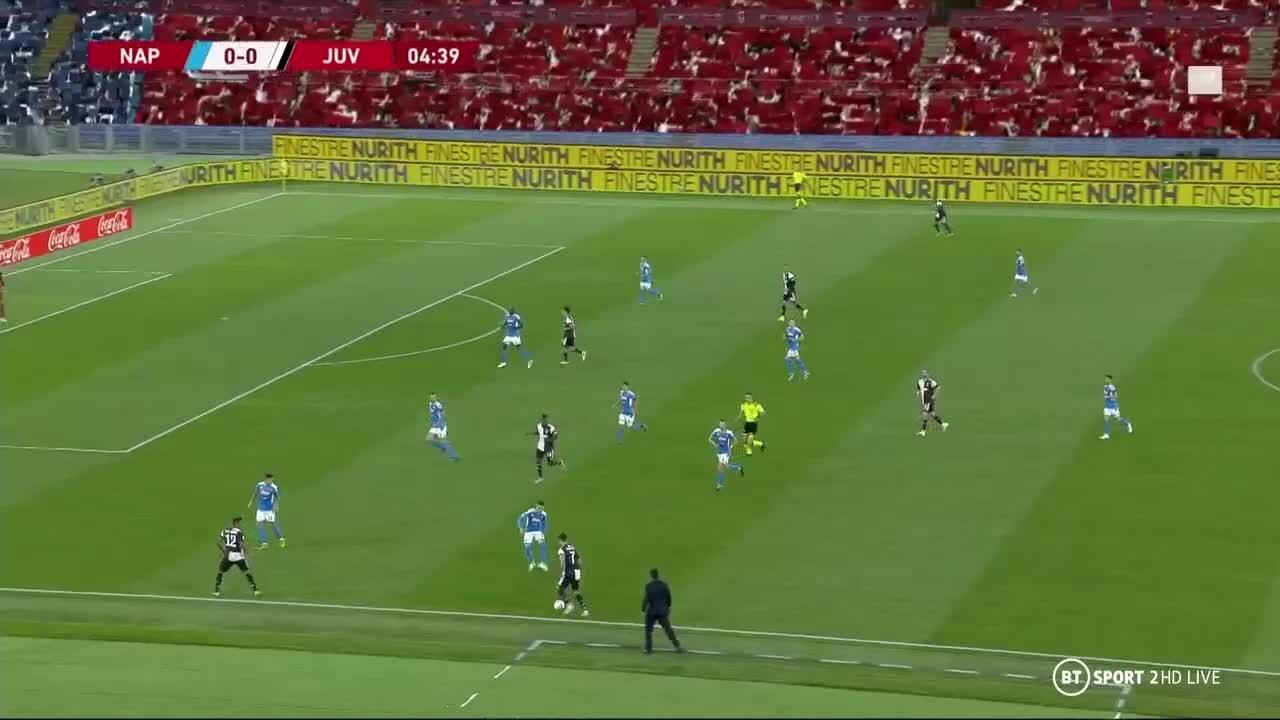Napoli 0-0 Juventus (Pen 4-2)