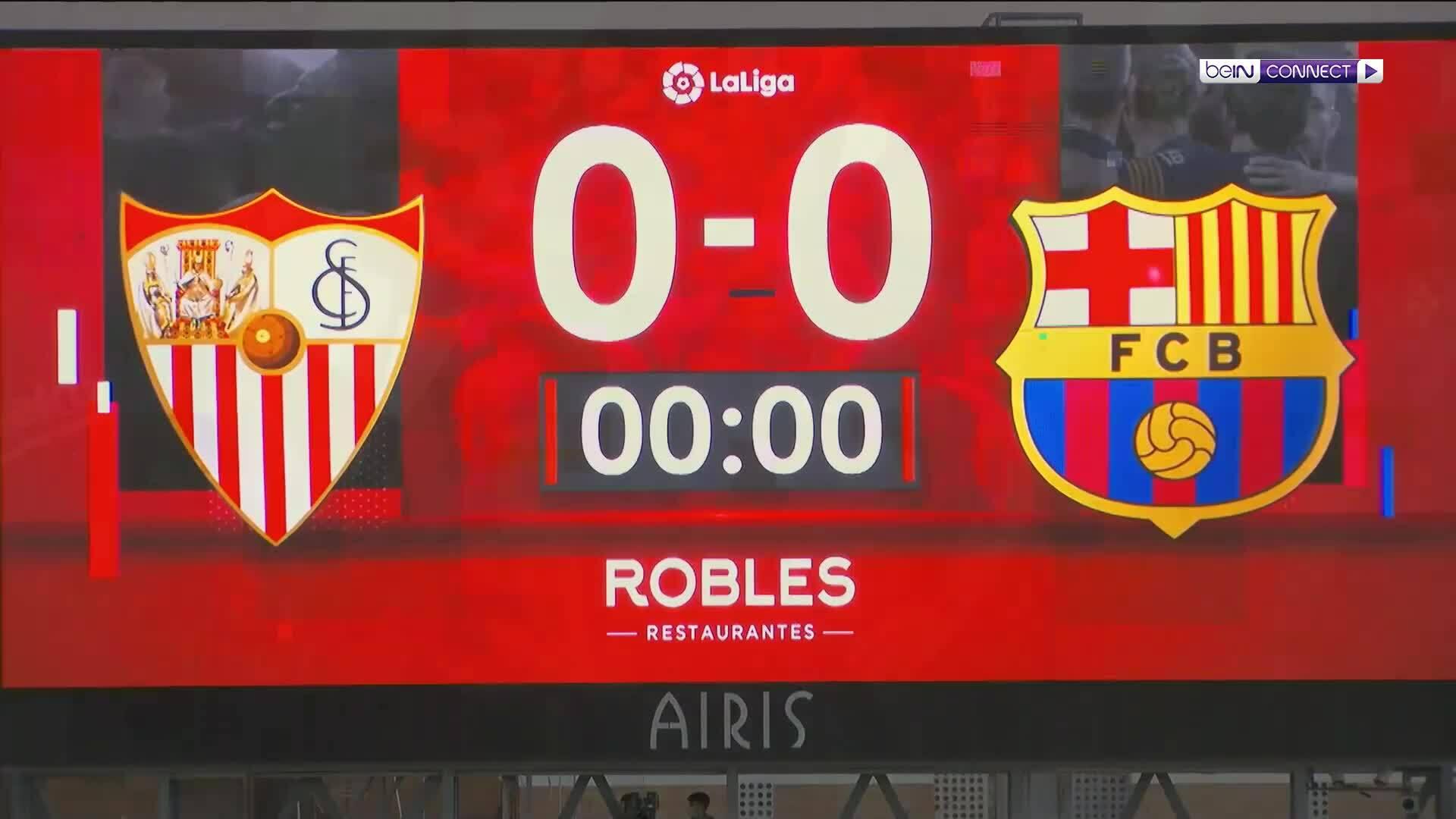 Sevilla 0-0 Barcelona