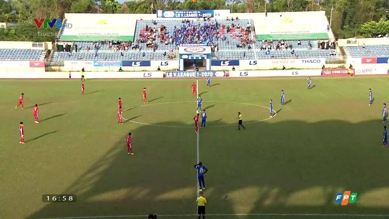 Quảng Nam 0-3 Viettel