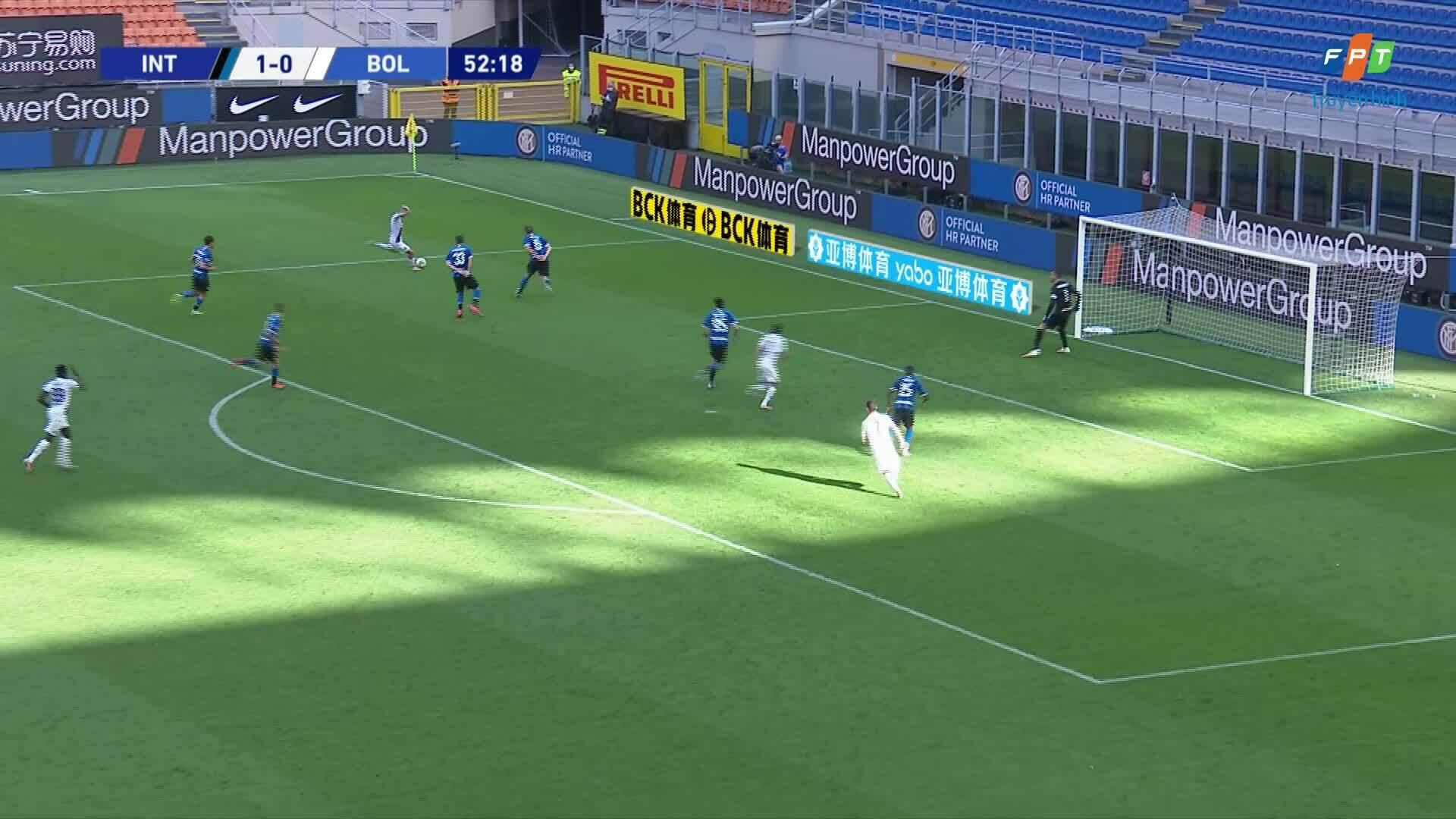 Inter 1-2 Bologna