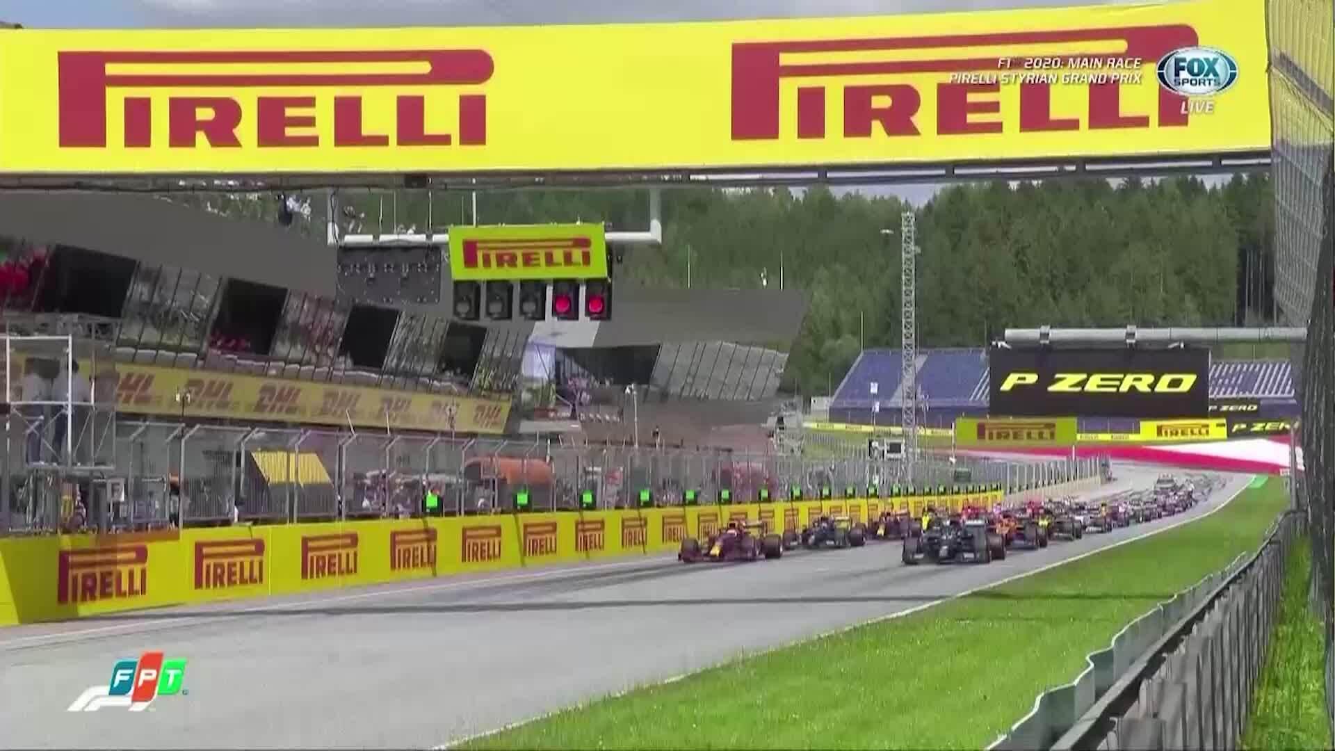 Lewis Hamilton về nhất chặng Styrian GP