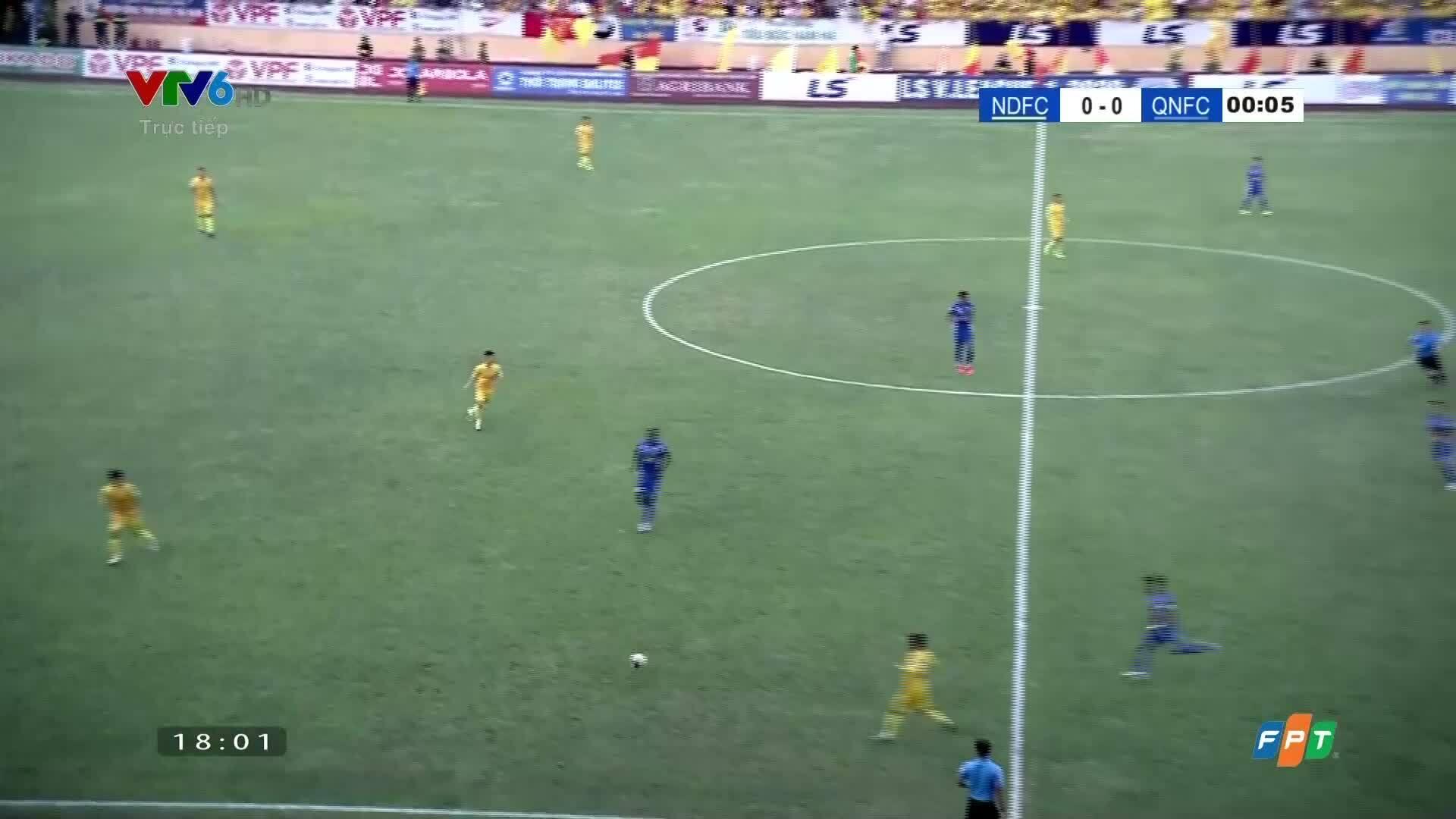 Nam Định 1-0 Quảng Nam