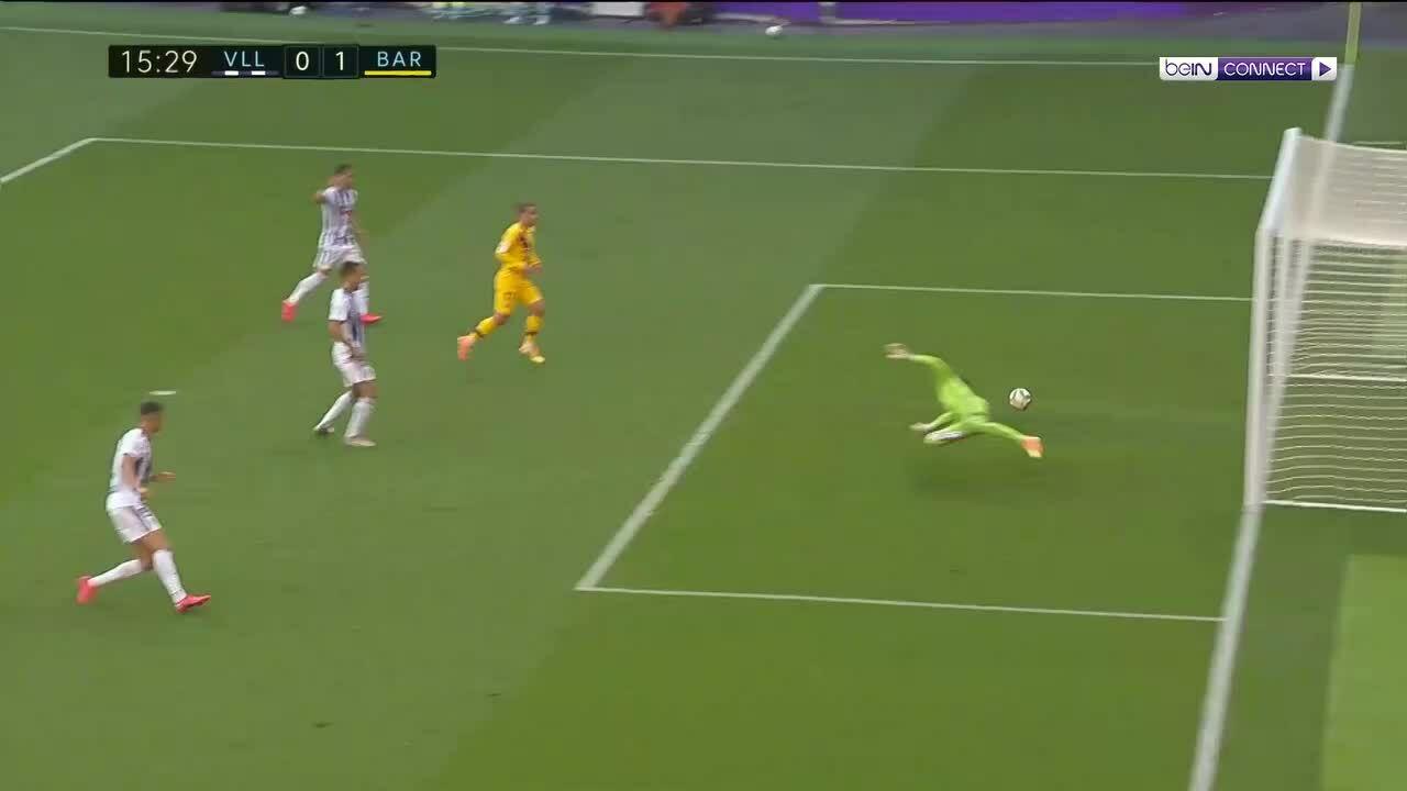 Real Valladolid 0-1 Barcelona