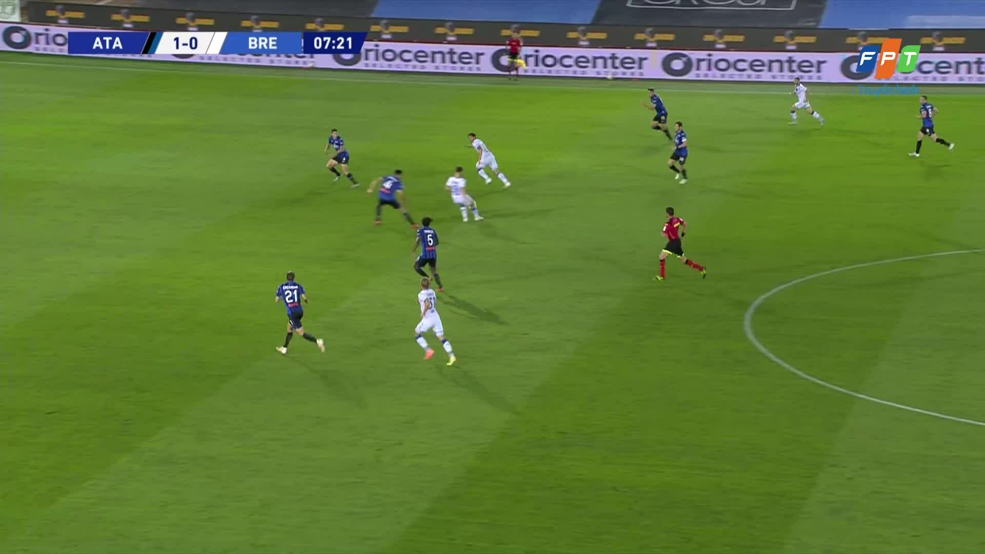 Atalanta 6-2 Brescia