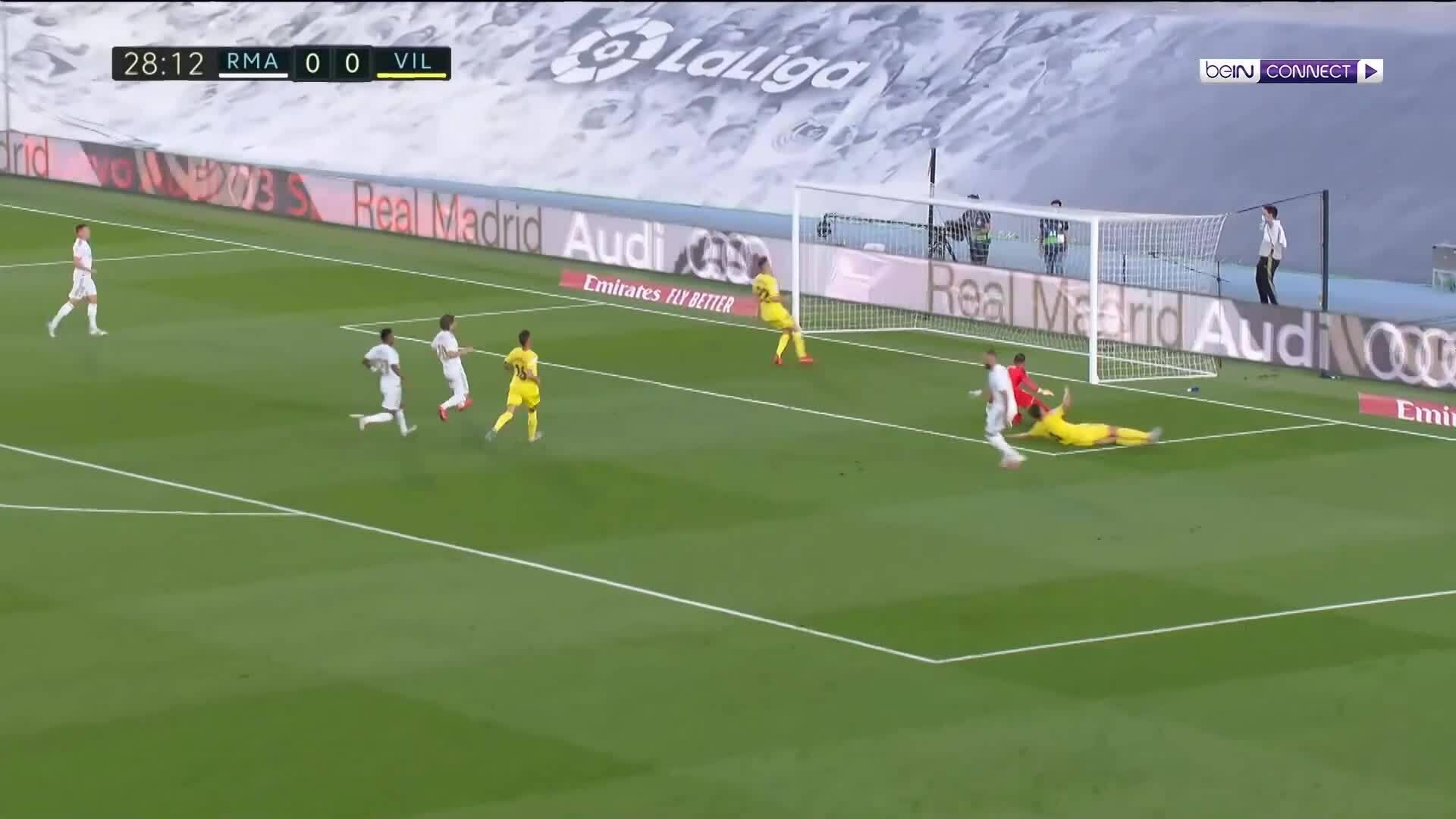 Real Madrid 2-1 Villarreal