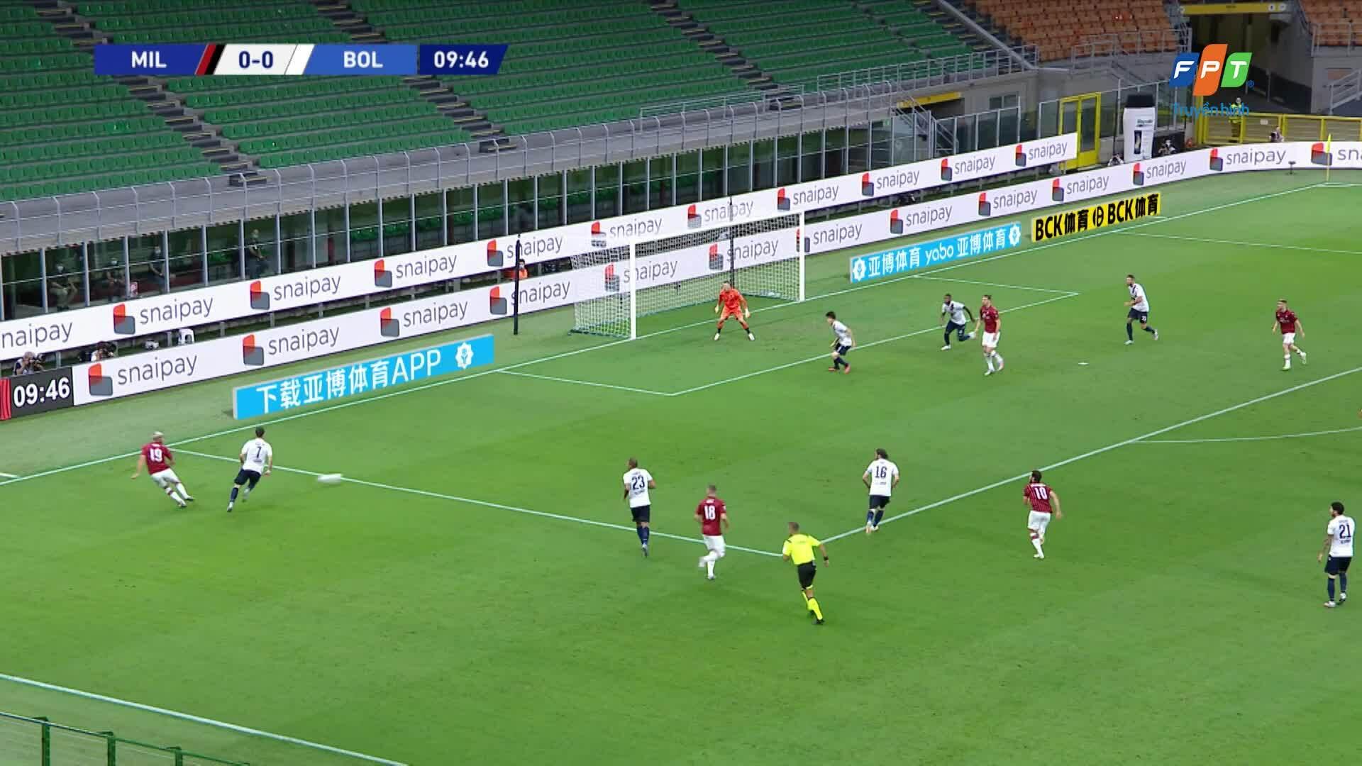 Milan 5-1 Bologna