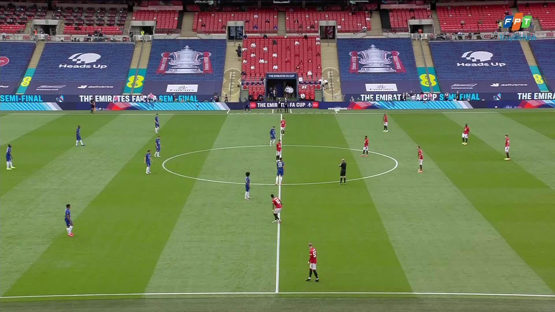Man Utd 1-3 Chelsea