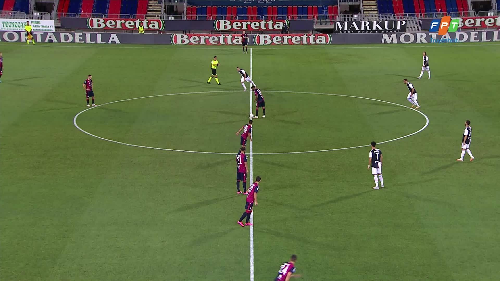 Cagliari 2-0 Juventus