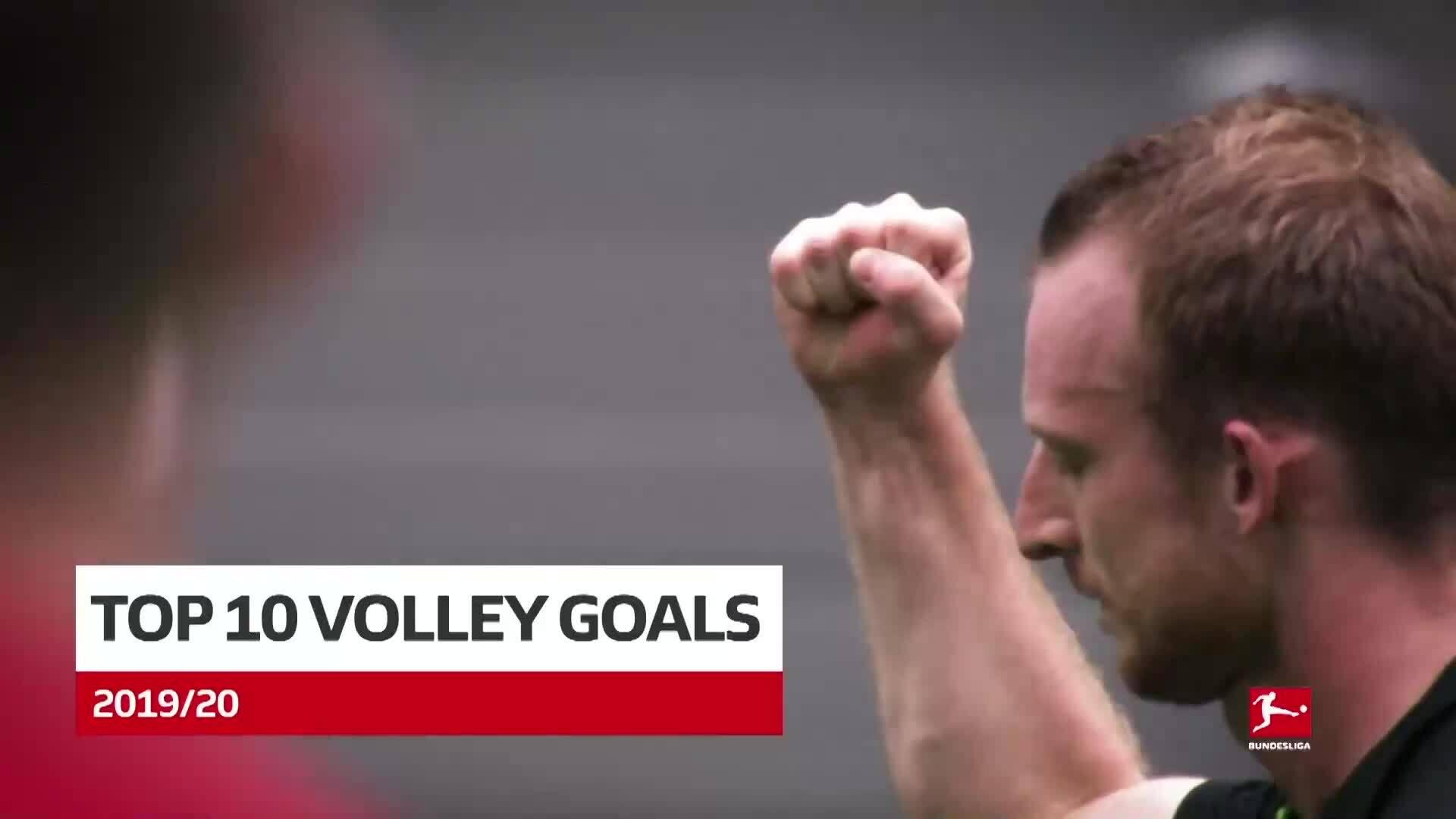 Top 10 Volley đẹp nhất Bundesliga mùa giải 2019-2020
