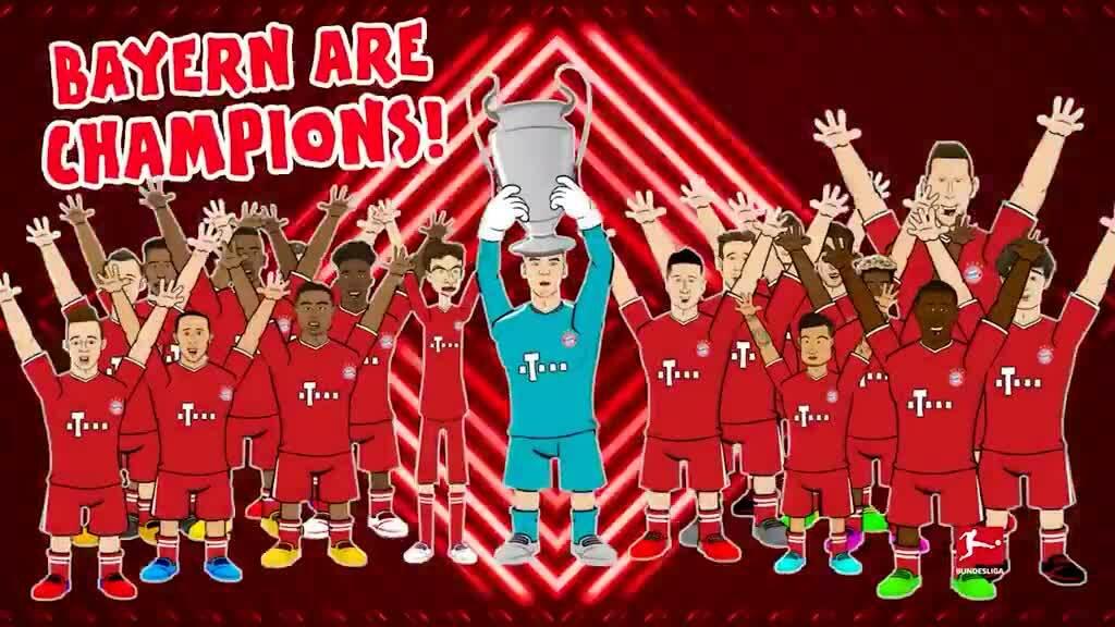 Bundesliga mừng Bayern giành cú ăn ba