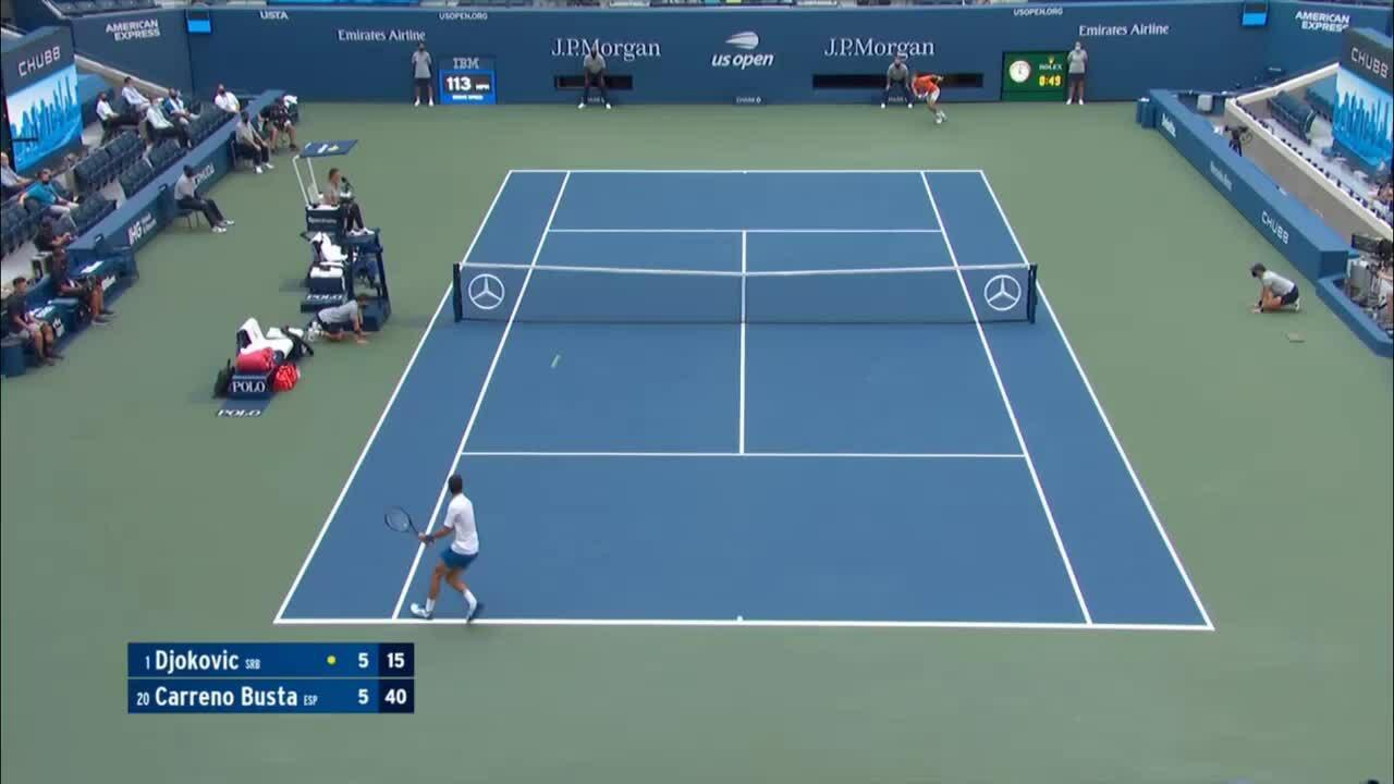 Djokovic bị truất quyền thi đấu tại Mỹ Mở rộng
