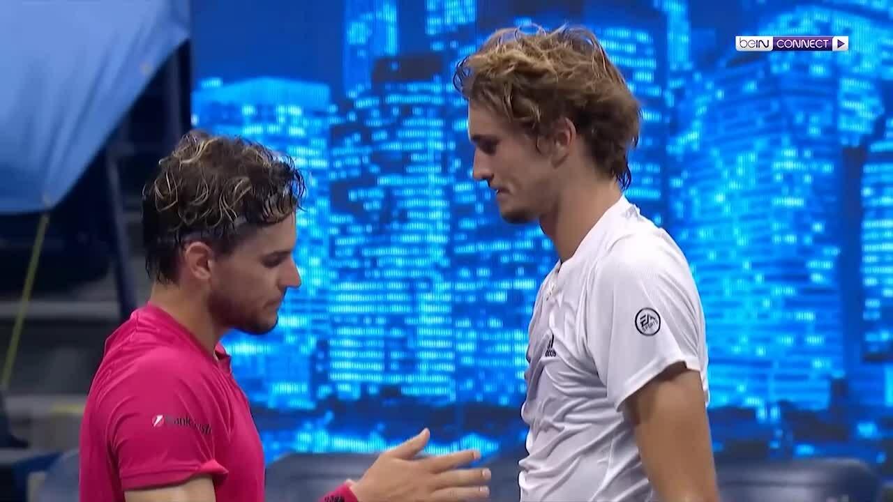 Alexander Zverev 2-3 Dominic Thiem