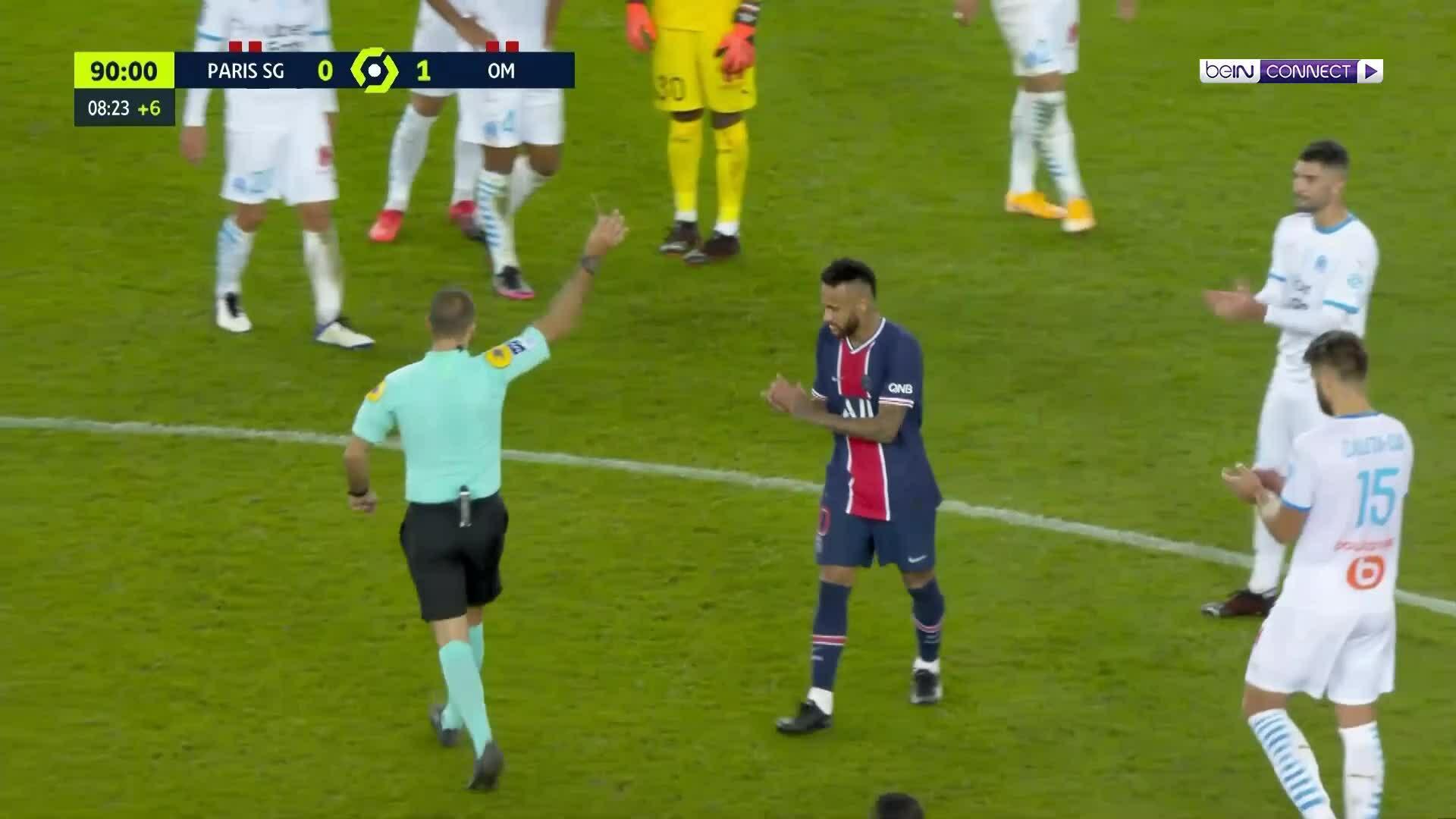 PSG 0-1 Marseille