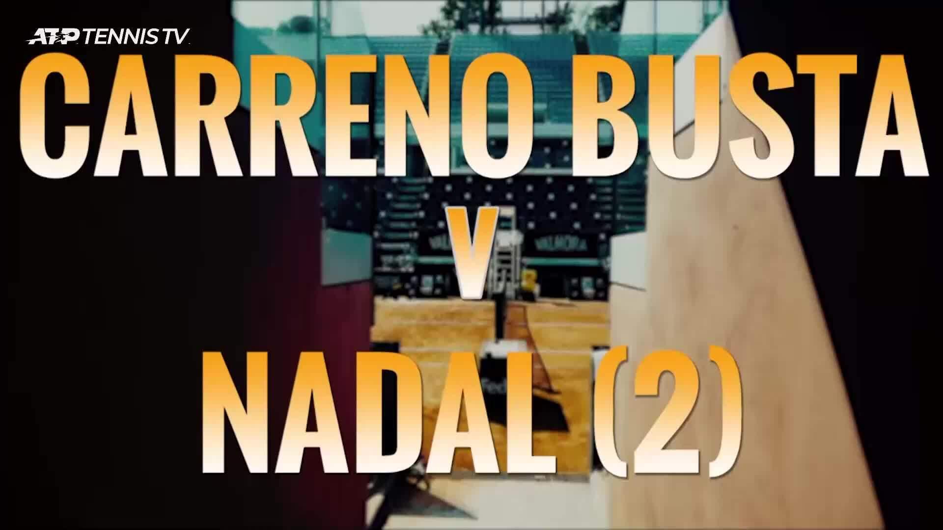 Nadal 2-0 Carreno-Busta