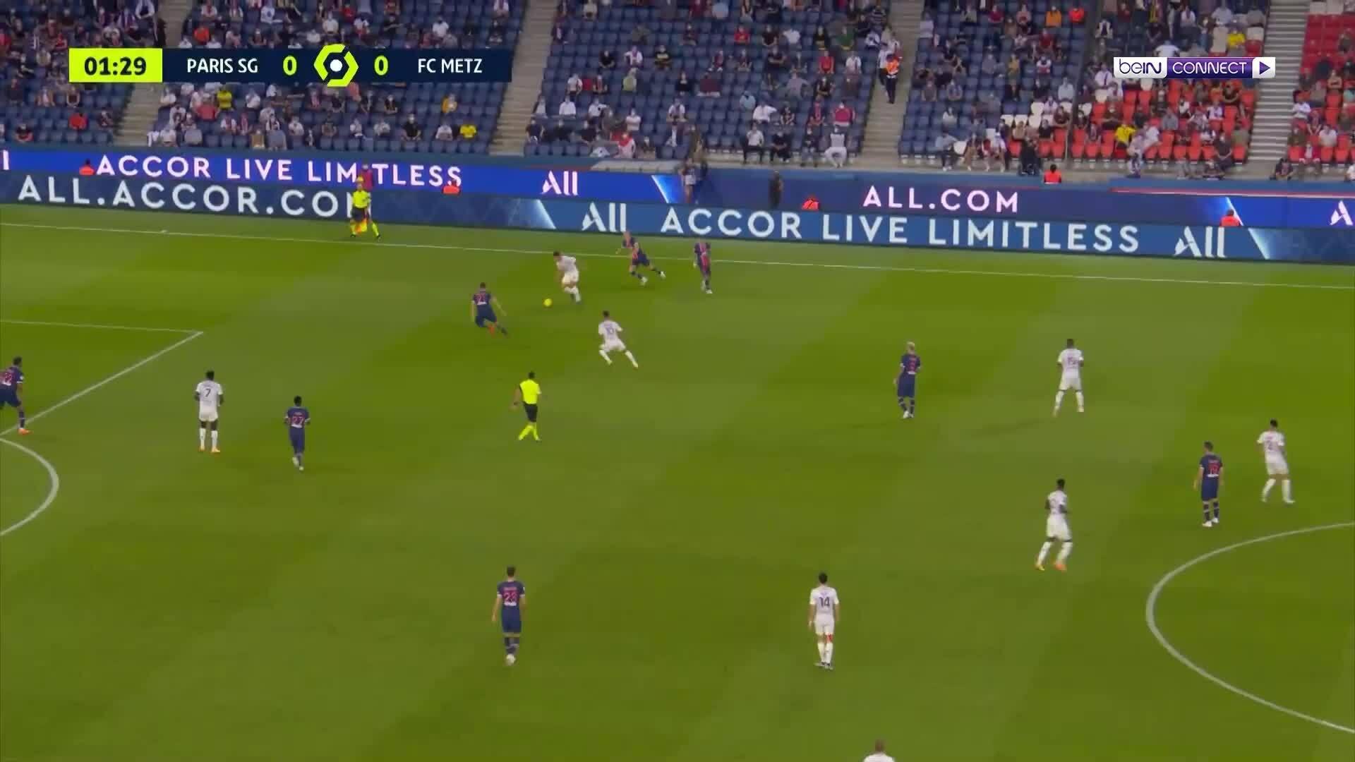 PSG 1-0 Metz