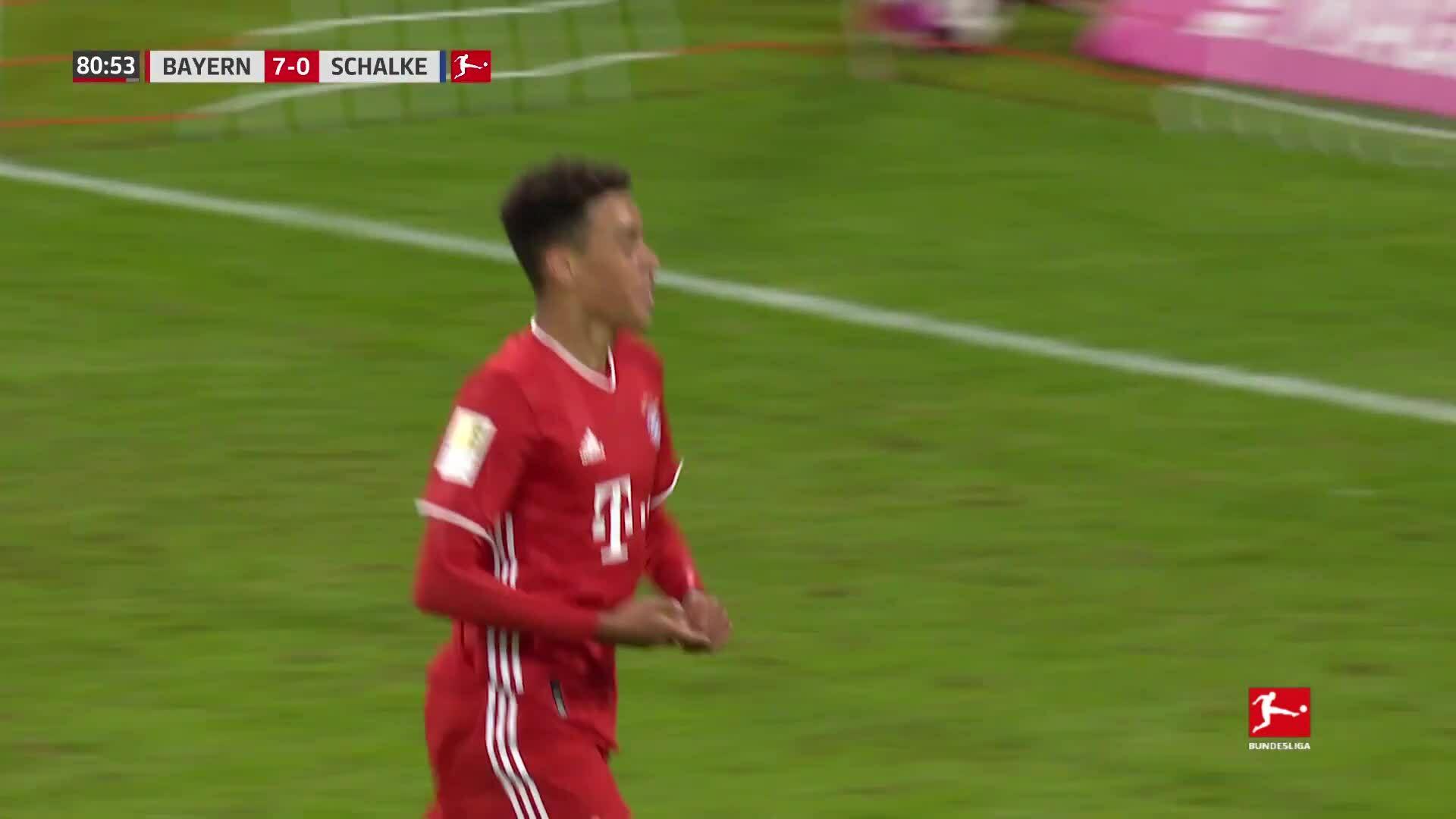 Bayern 8-0 Schalke 04