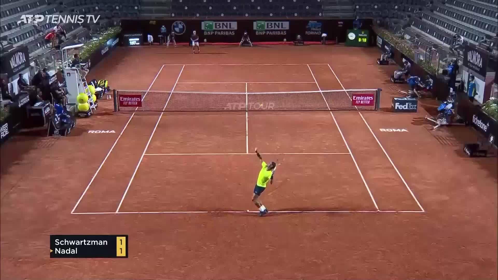 Diego Schwartzman 2-0 Rafael Nadal