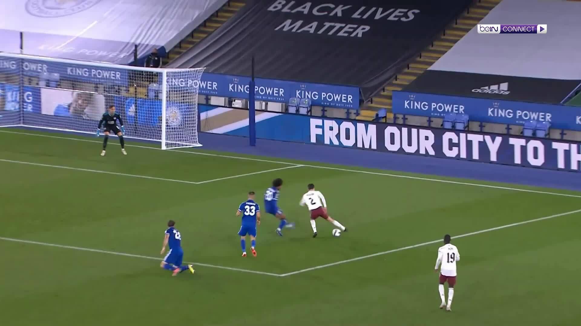 Leicester 0-2 Arsenal
