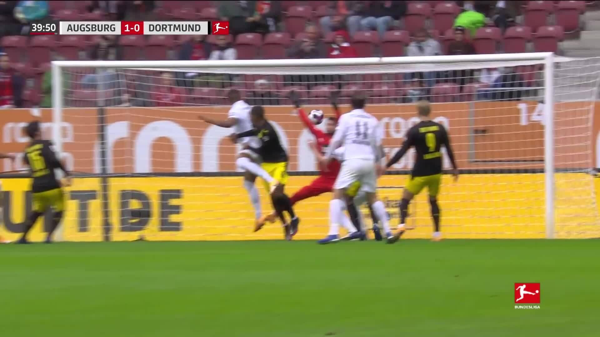 Augsburg 2-0 Dortmund
