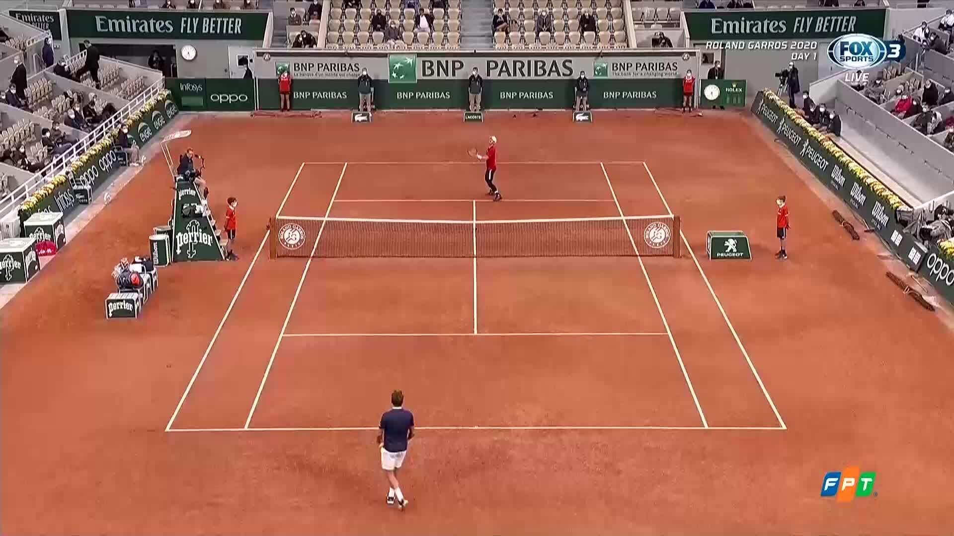 Stan Wawrinka 3-0 Andy Murray